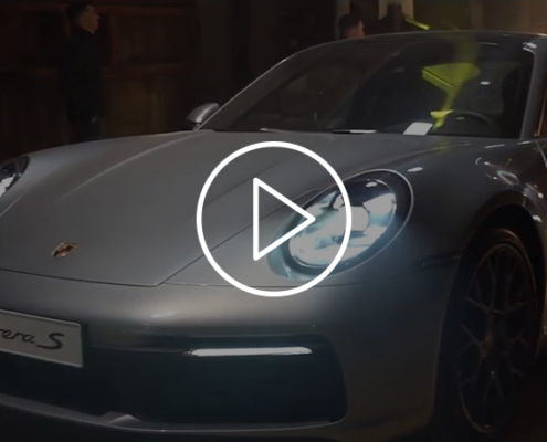 realisation-video-publicitaire-inauguration-porsche-911-montpellier